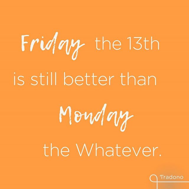 Are you superstitious? 😏 . . . #happy #friday #friday13th #becareful #besafe #dontdoanythigstupid #keepcalm #dontdoanything #livelongandprosper #behappy #dontworry #allwillbegood #almosttheweekend #tradonoswiss #staypositive #casualchic #simplestyling #quote #goodvibes #happy #fashion #love #secondhand #secondhandfashion