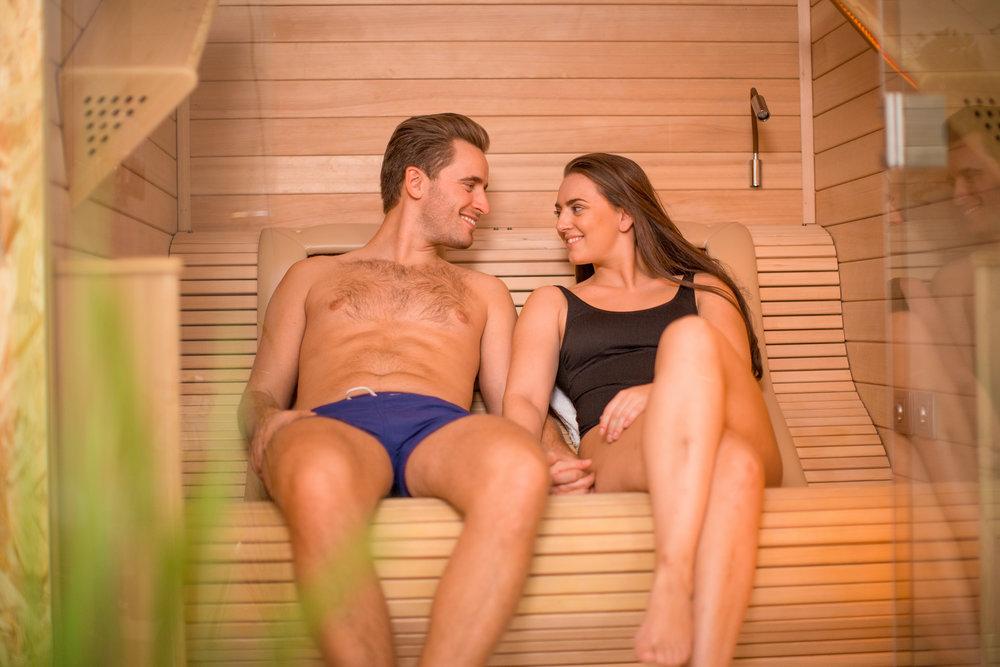 Bare Flyt Majorsteun- Rom 2- IR sauna