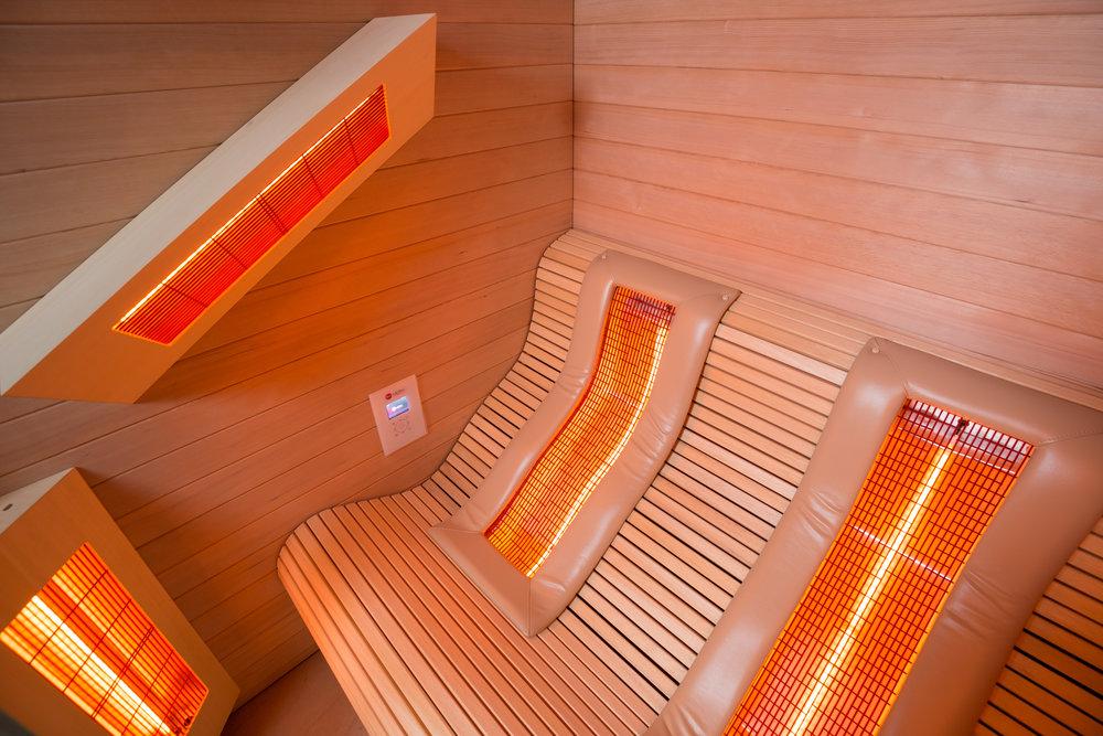 Bare Flyt Majorstuen - Rom 2- IR sauna
