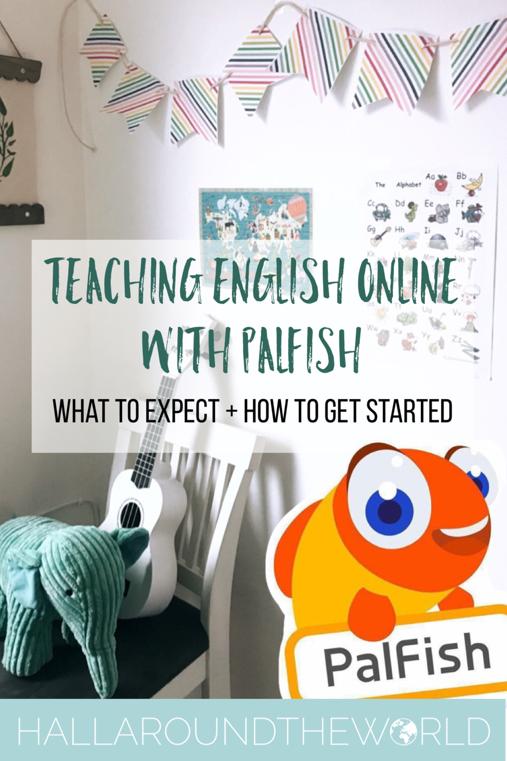 Teaching English Online with PalFish - What's Required + How to Get Started | HallAroundtheWorld