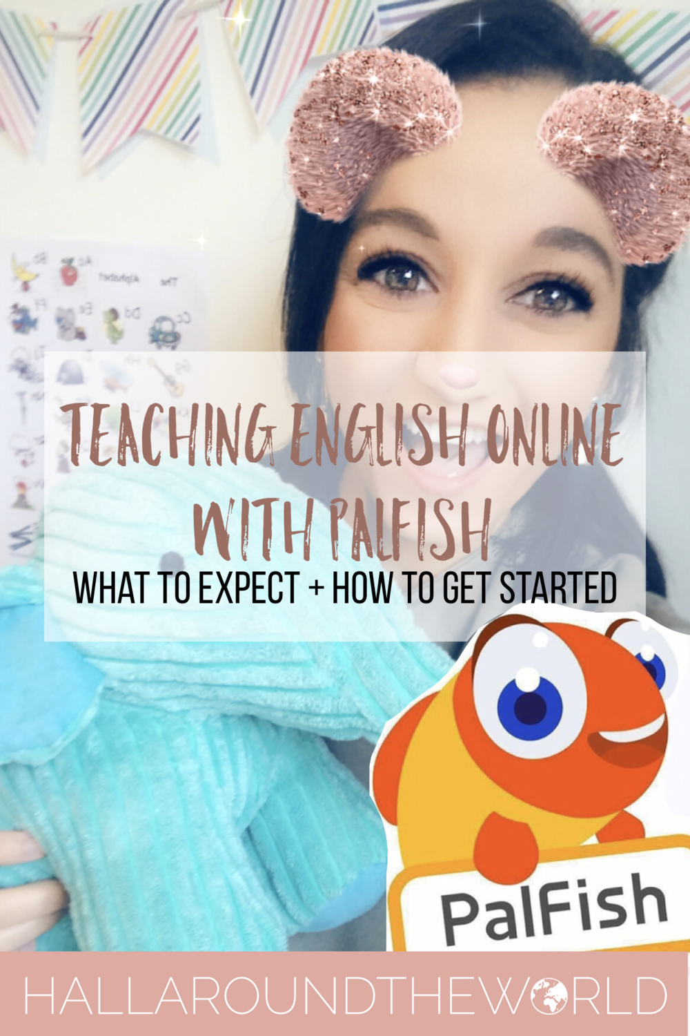 Teaching English Online with PalFish - What to Expect + How to Get Started | HallAroundtheWorld