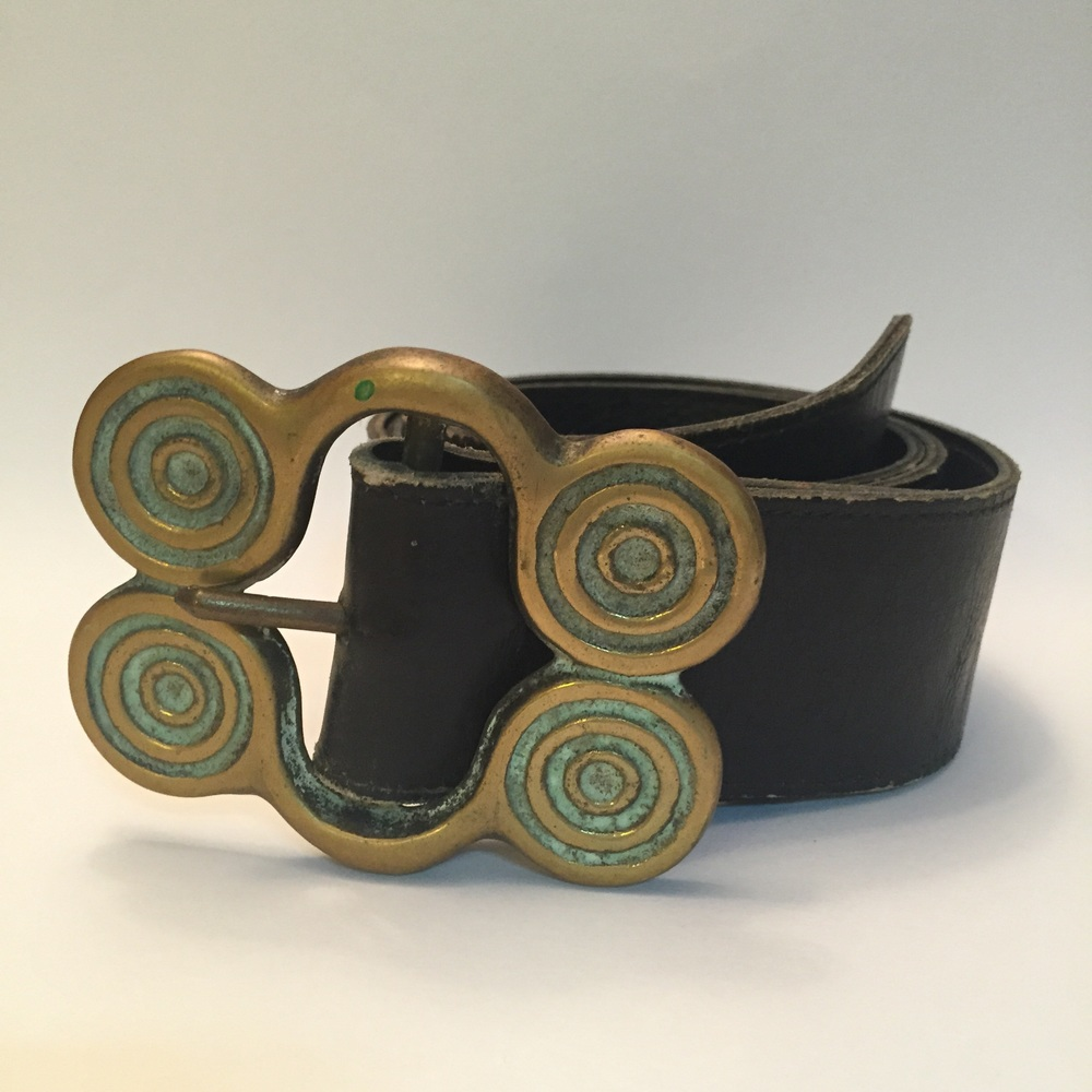 Vintage Brass Buckle