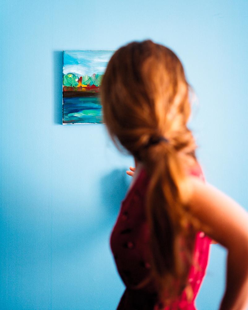 Arles 31-14 (A)   photographie couleur, prise de vue analogique, impression jet d'encre (contrecollée), encadrement bois sous verre avec rehausse, 100x80cm éd. 3 ex. 2016