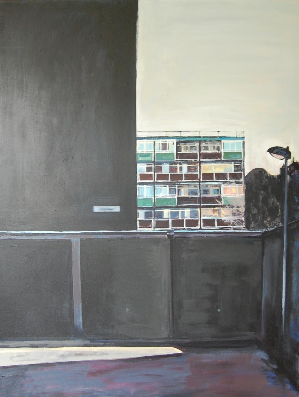 SCEAUX LIGHT: acrylic on canvas (80 x 105cm) 2015