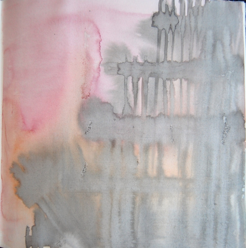 UNTITLED: Watercolour & ink on paper 2014