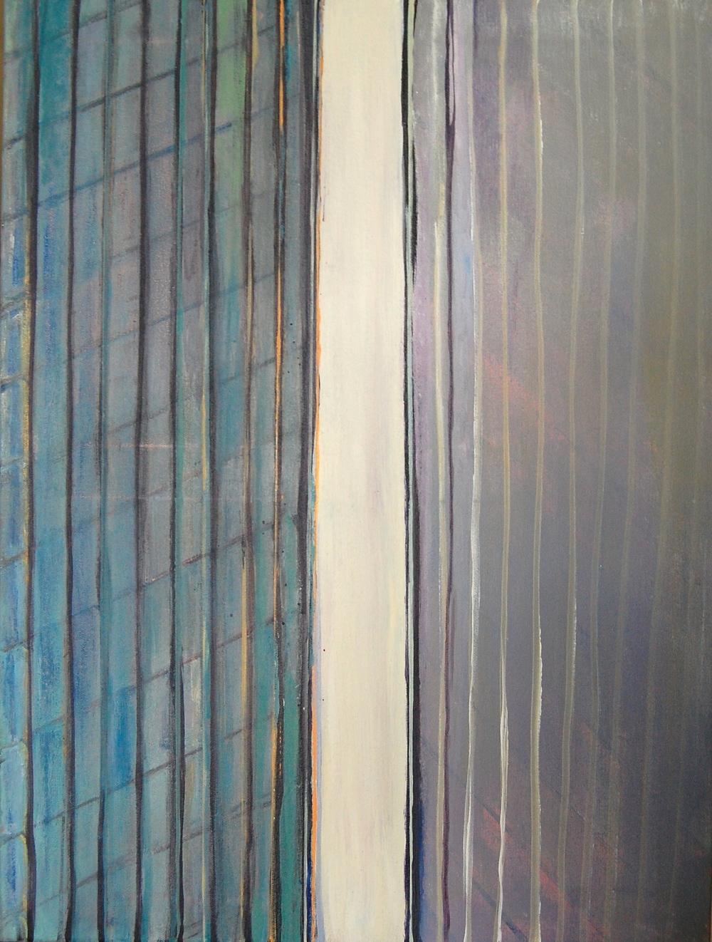 HARD EDGE: Acrylic on canvas 2014