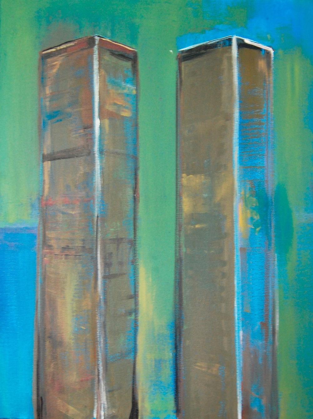 WHOLES: Acrylic on canvas 2014