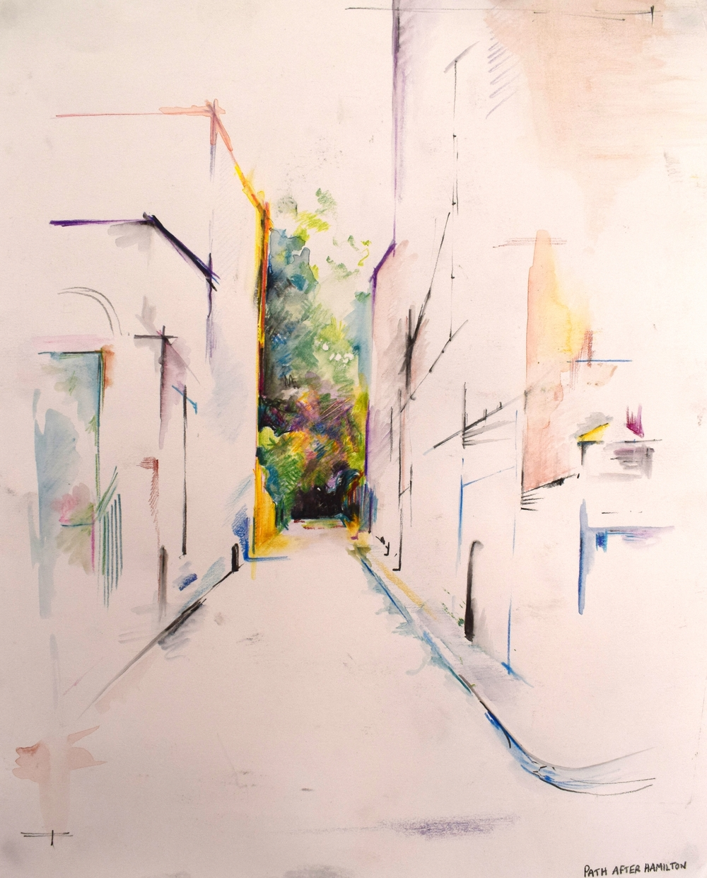 CAMBERWELL: coloured pencil on paper