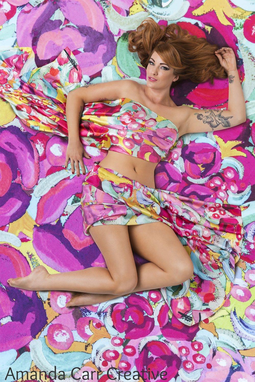 Blossom - Kate Aubrey-Dunn Textiles 2016