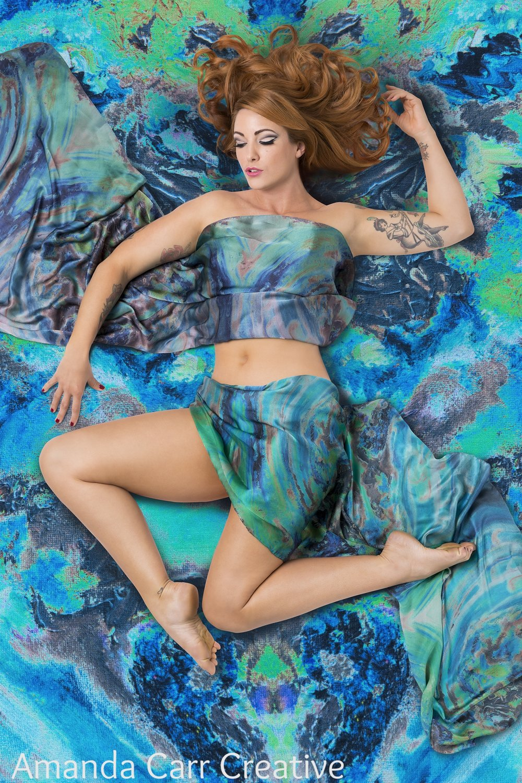 Ink Blot - Kate Aubrey-Dunn Textiles 2016