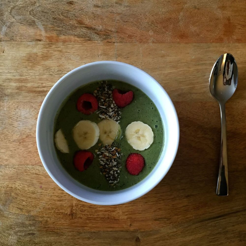 Energizing Green Smoothie Bowl  Click for Recipe