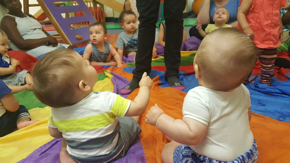 Picture from Michelle of Parker at Gymboree Class