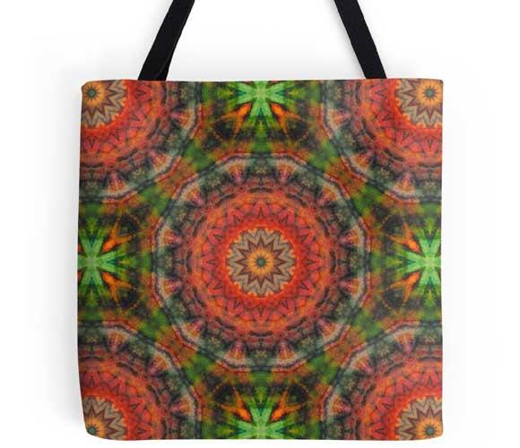 Fractal Art Tote Bags
