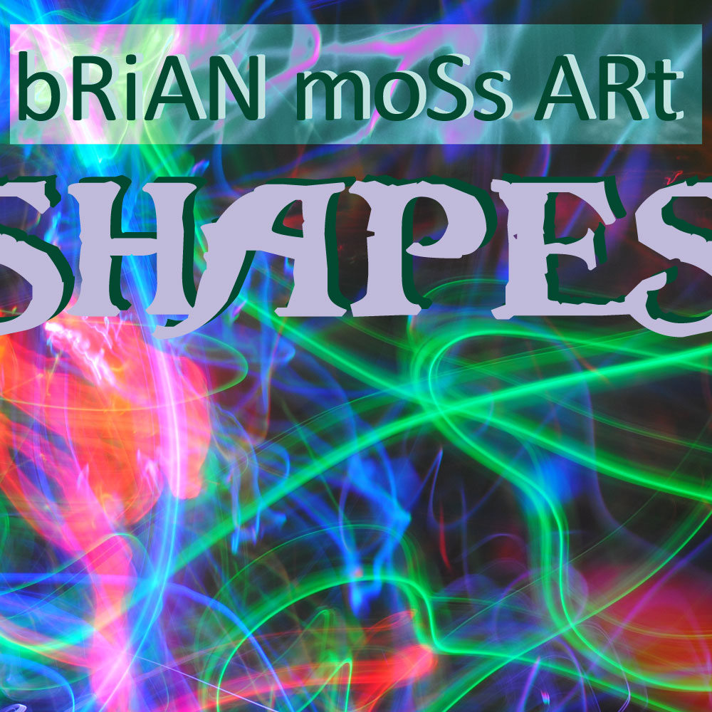 brian moss art - cd cover shapes