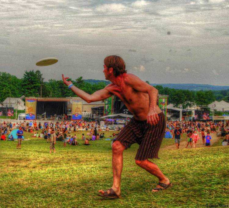all good festival frisbee game