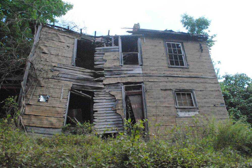 abandoned house paw-paw west virginia