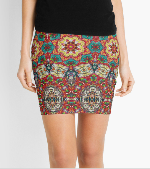 Pencil Skirt Art Designs