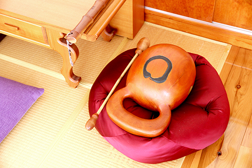 The Mok-Tak is a wooden instrument from Korea traditionally used for chanting.