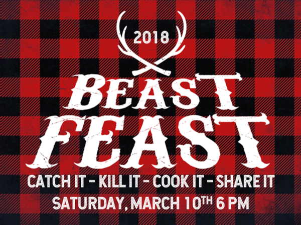 Men, you don't want to miss the BEAST FEAST! It is an opportunity for food, games, a short devotion, giveaways, good times. We will have a competition for best manly food dish you can bring. Whether you caught it, killed it, or just cooked it, bring it to be shared. Some categories to be judged for prizes include: Smokey, Spicy, Savory, and Sweet.