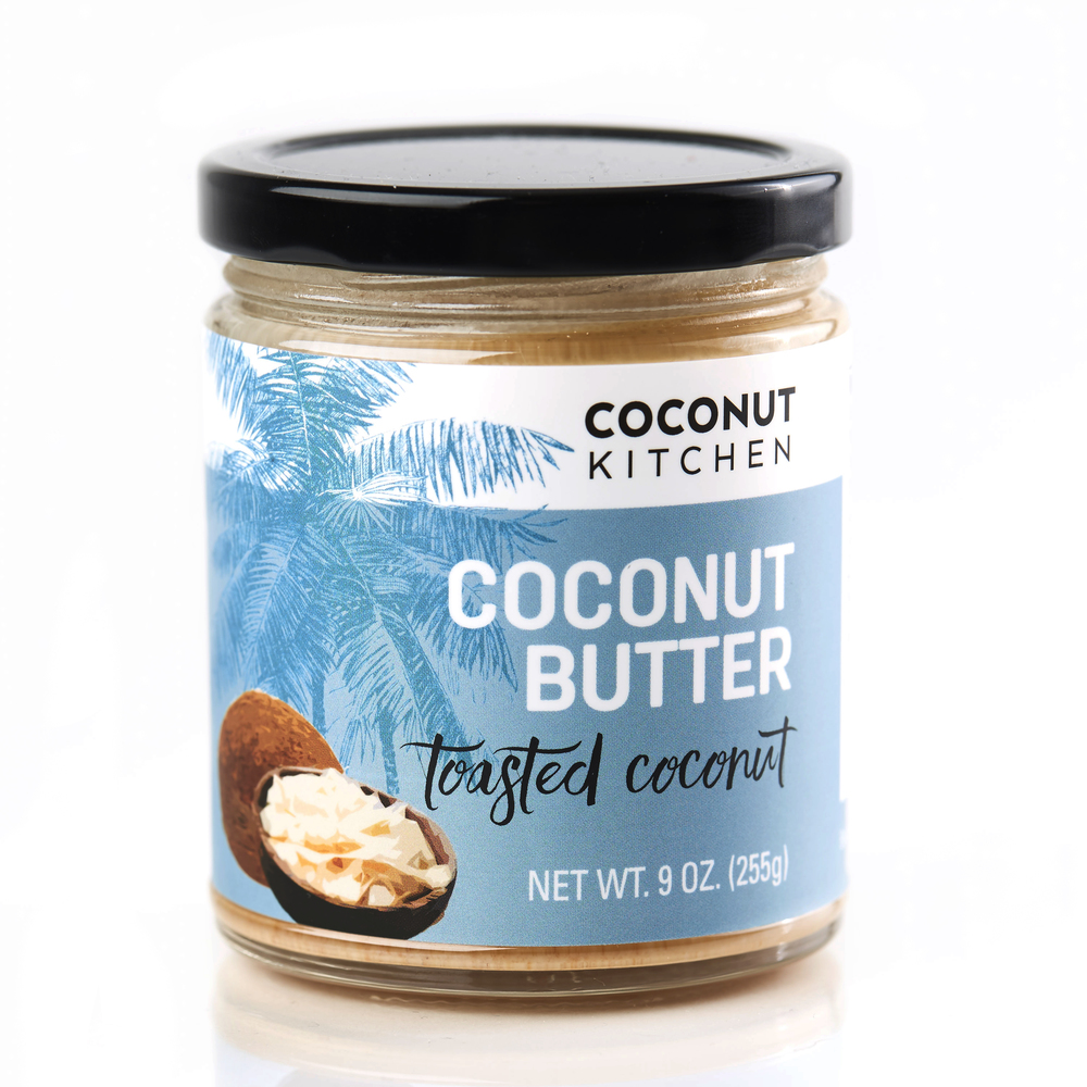 Toasted coconut butter