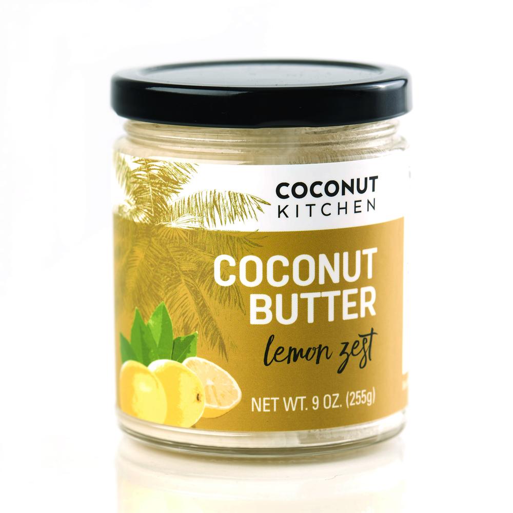 Lemon Zest coconut butter