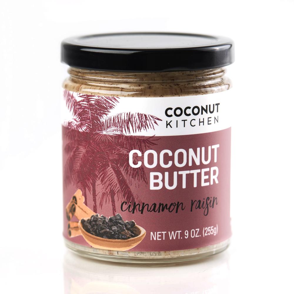 Cinnamon Raisin coconut butter