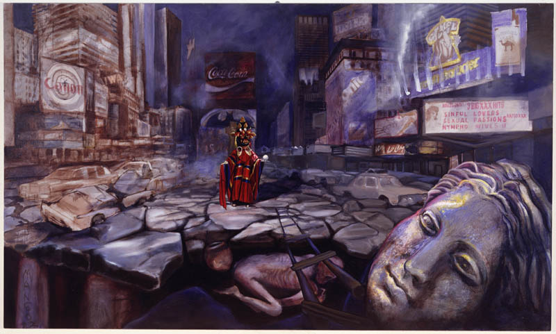 1996 Oil On Canvas 48 x 84 Inches
