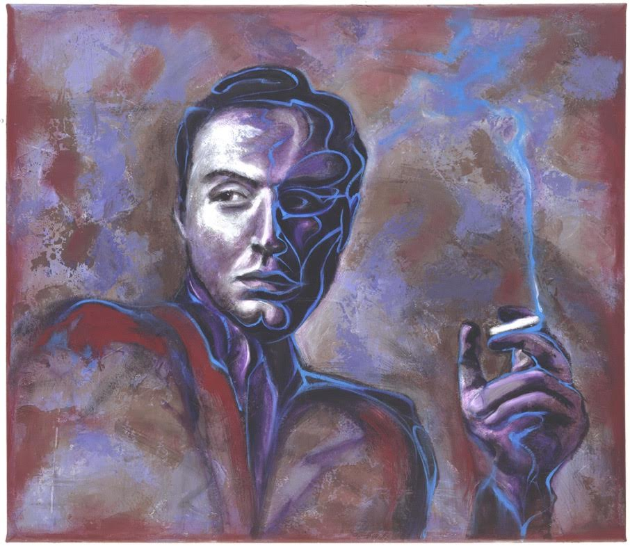 1996 Oil on Canvas 40 x 50 Inches