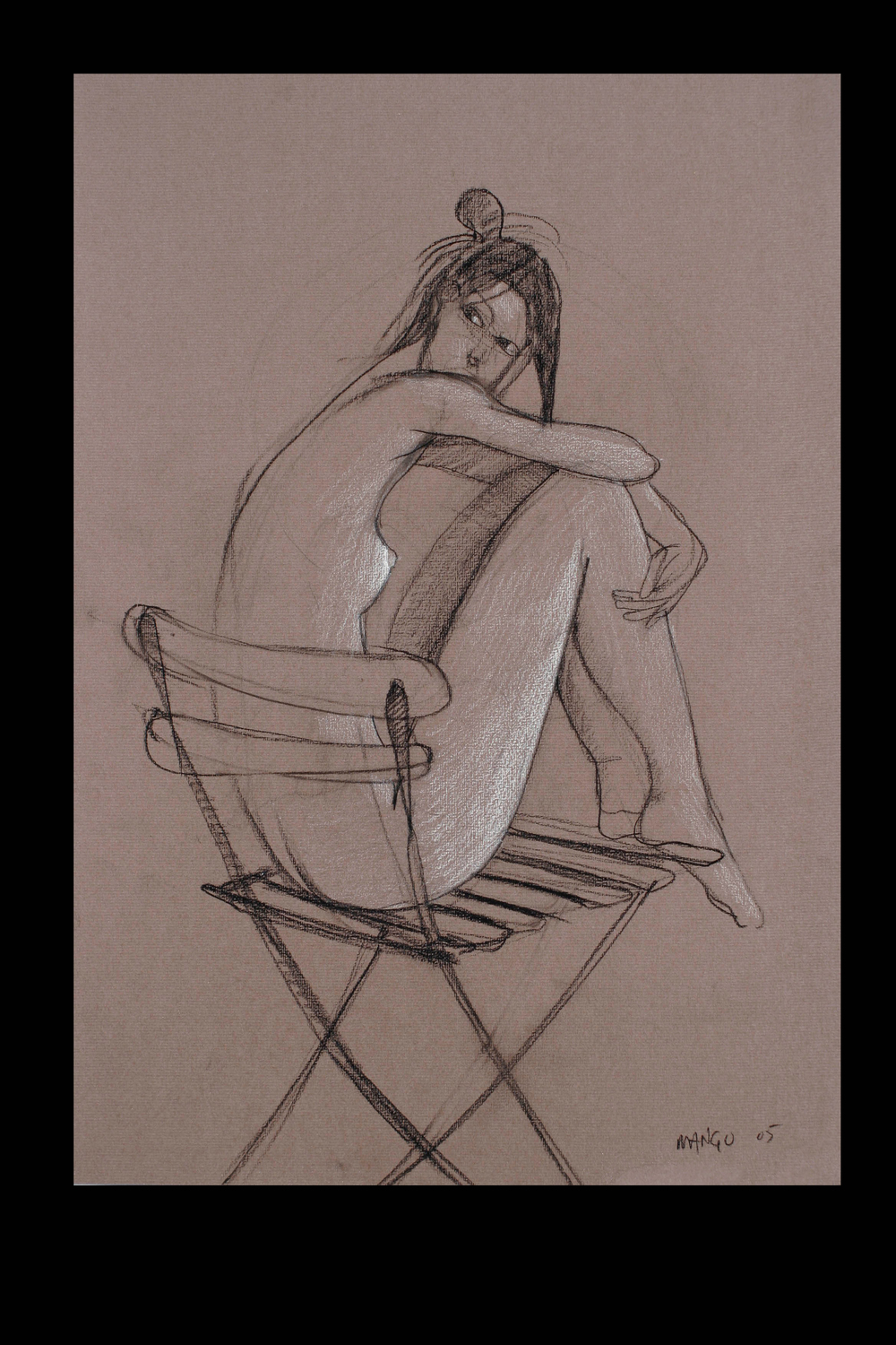 2005  Charcoal on Ingres paper  24x18 in.