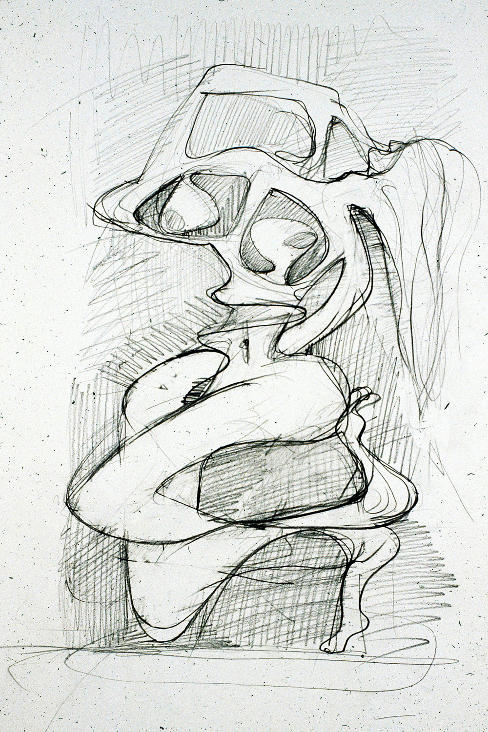2005 24x18 in. Graphite on paper