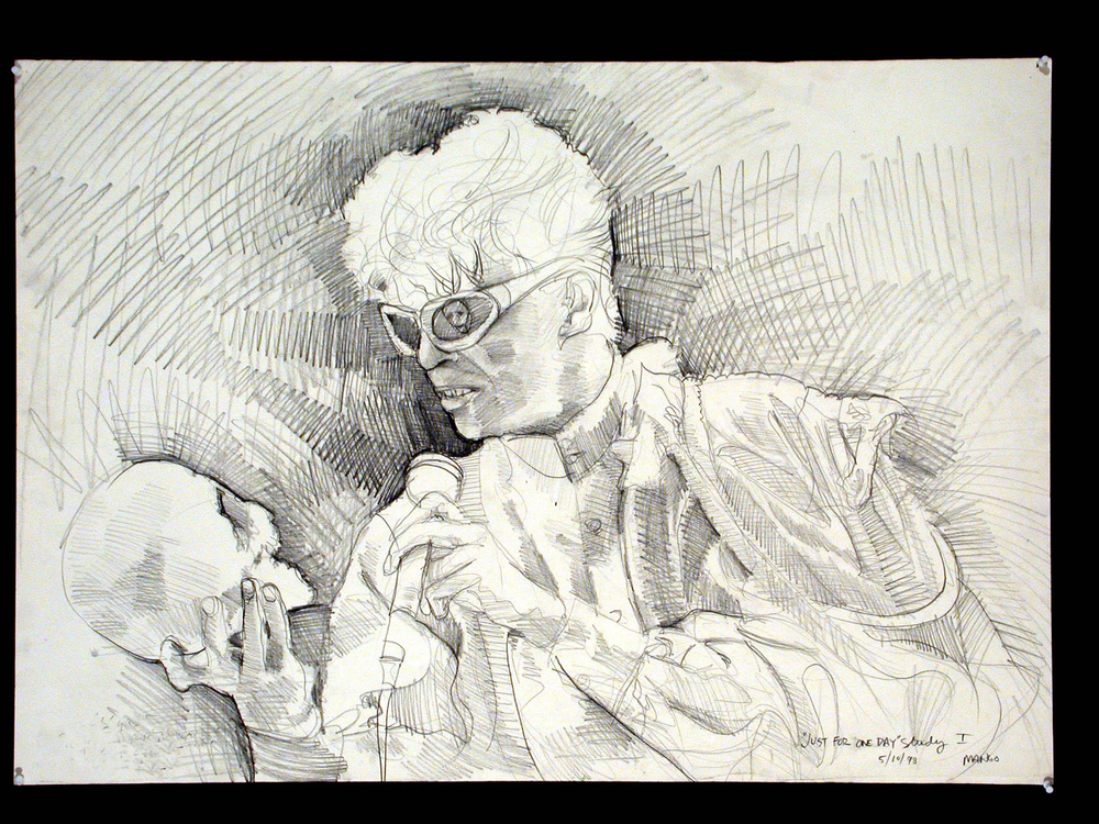 1998  Graphite on Arches paper  30x40 in.
