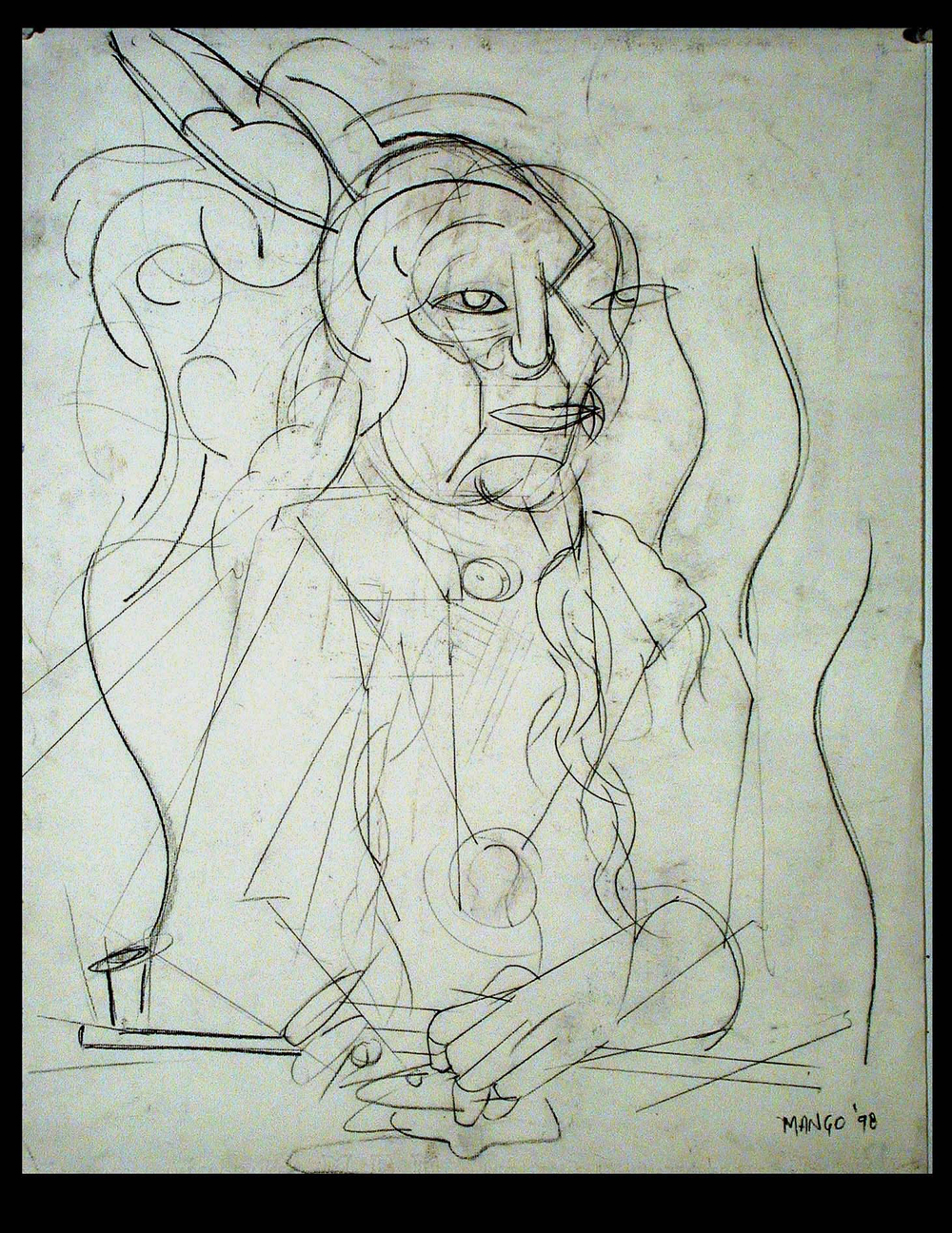 2004  24x18 in.  Graphite on paper