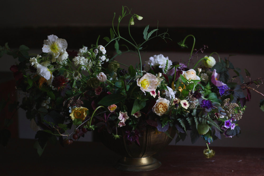 Luxury wedding flowers by Hedgerow Flower Company, Halifax, NS