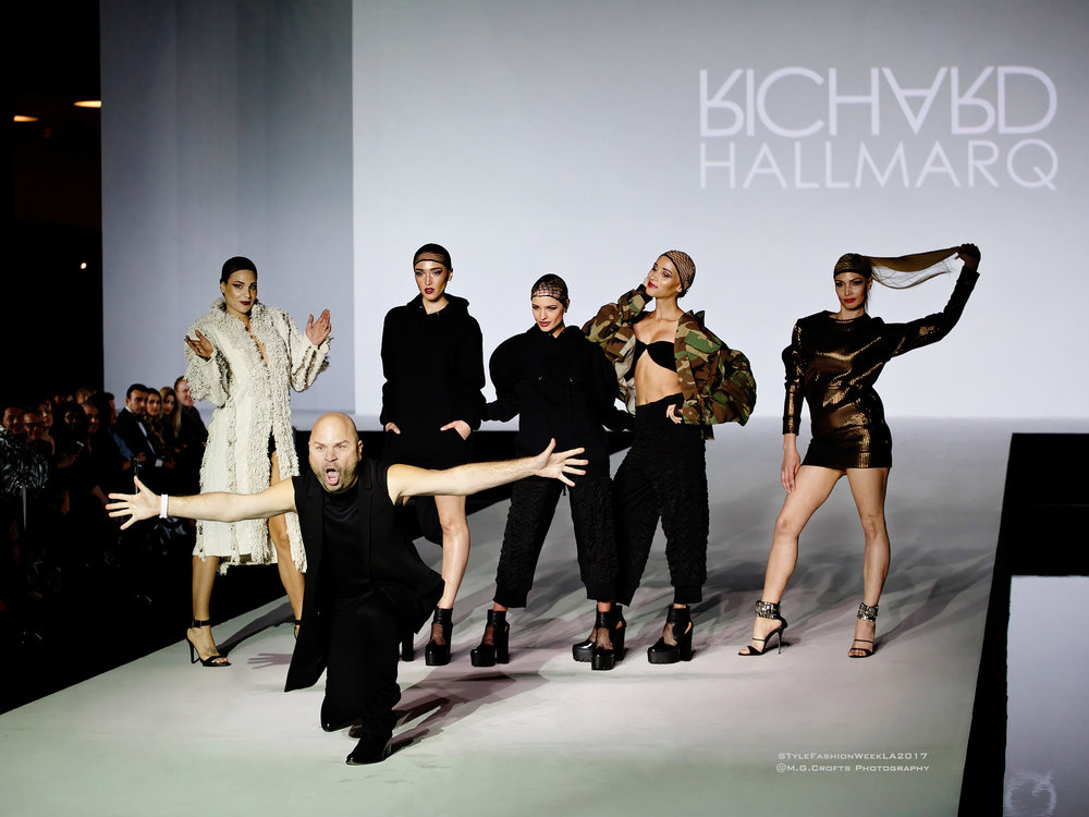 Richard Hallmarq - Style Fashion Week LA / #PROJECTRUNWAY