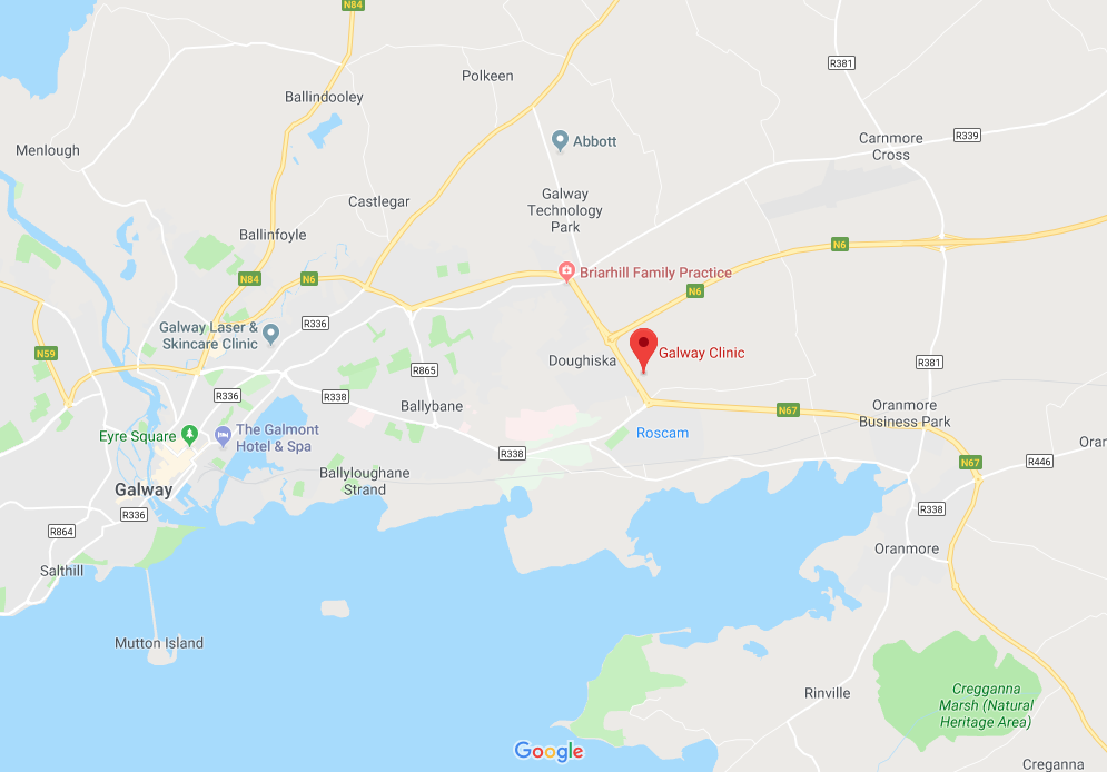 Google maps: Galway Clinic