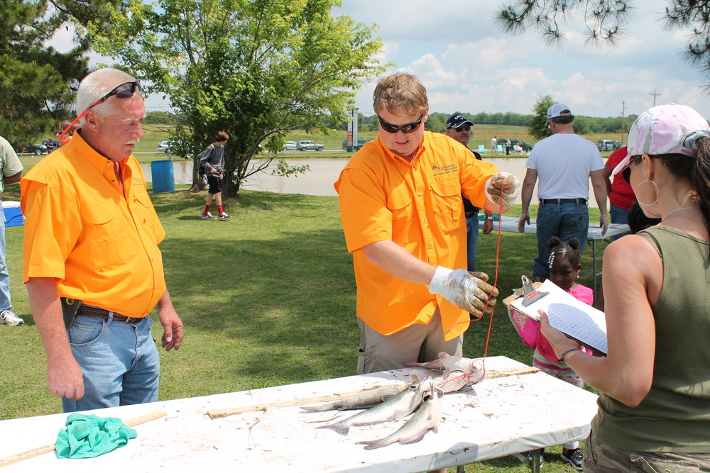 Fishing rodeo volunteers. Something for everyone!