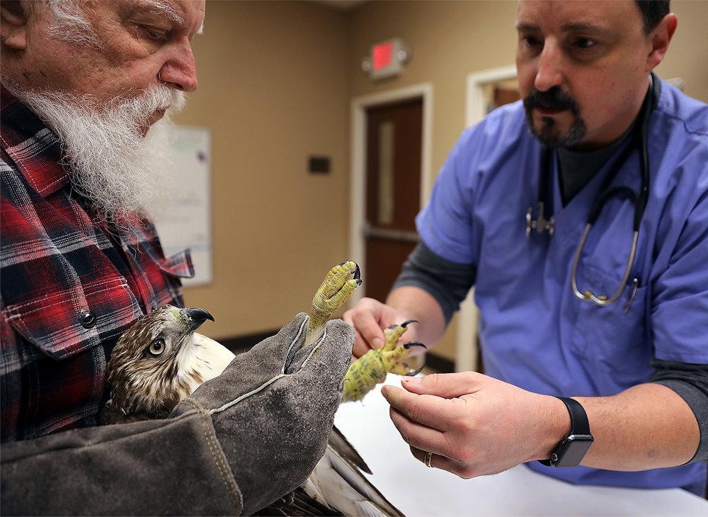 Dr. Martin & Dr. Hannon, Photo by Patrick Lantrip