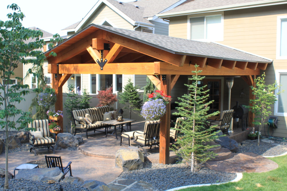 Rocky Hill Covered Patio Addition