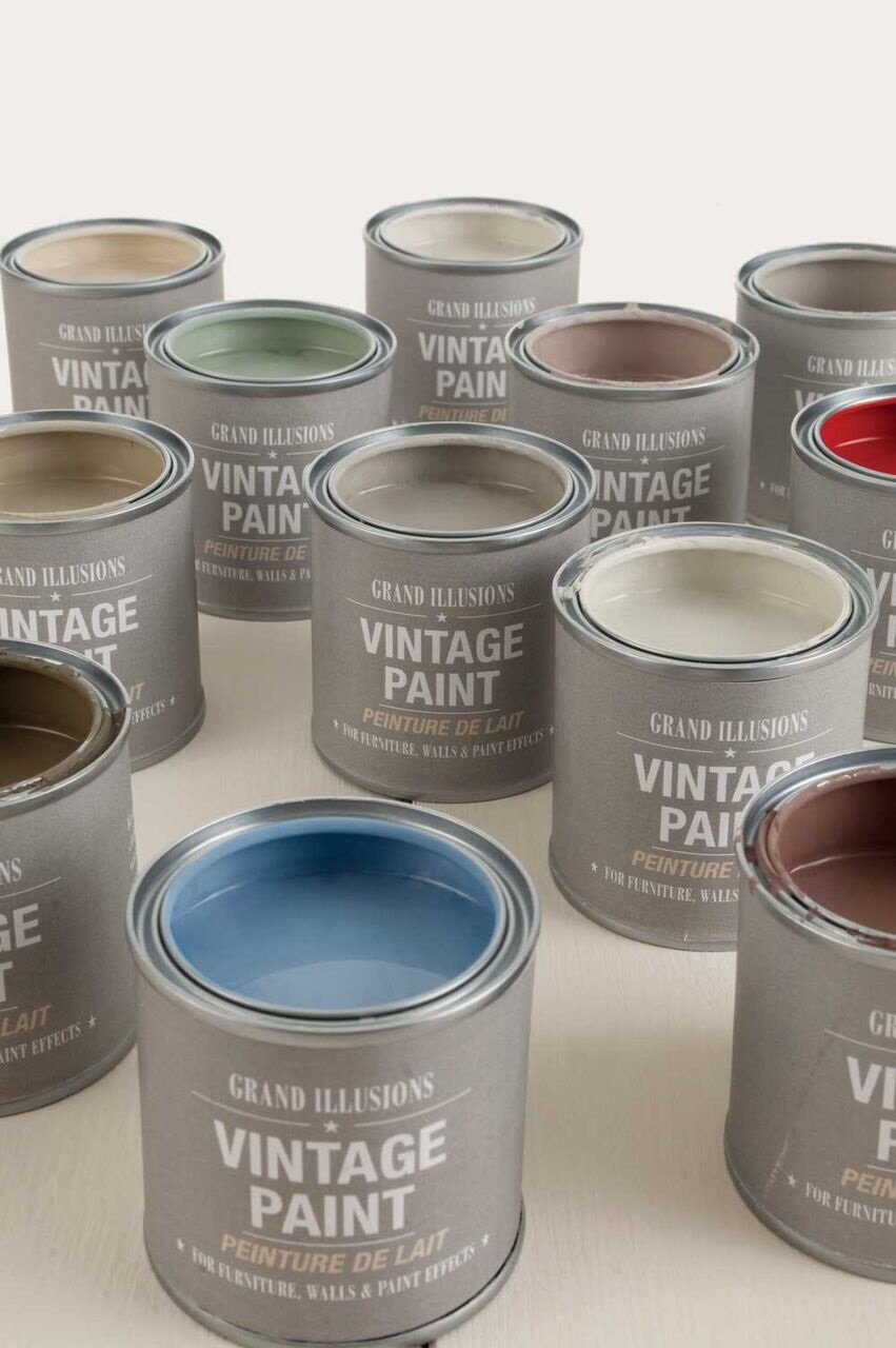 Grand Illusions Vintage Paint -perfect for painting furniture