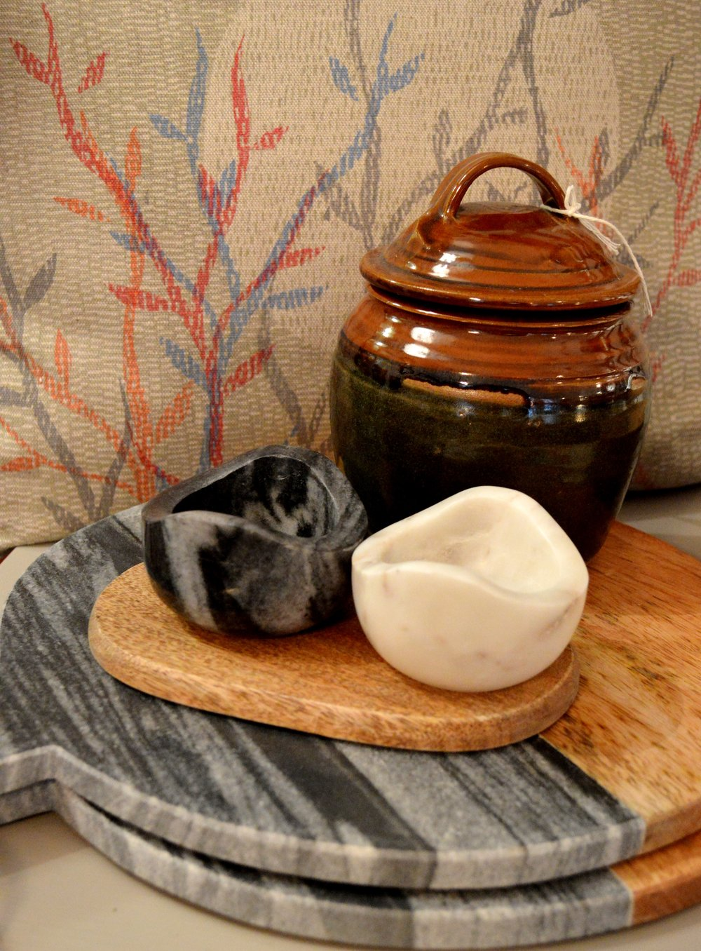 Marble Pinch Pots