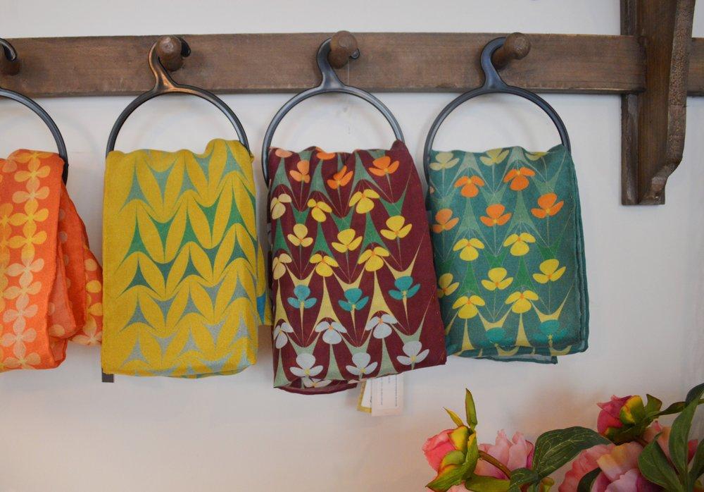 Katie Wallis Print - Silk Scarves £55