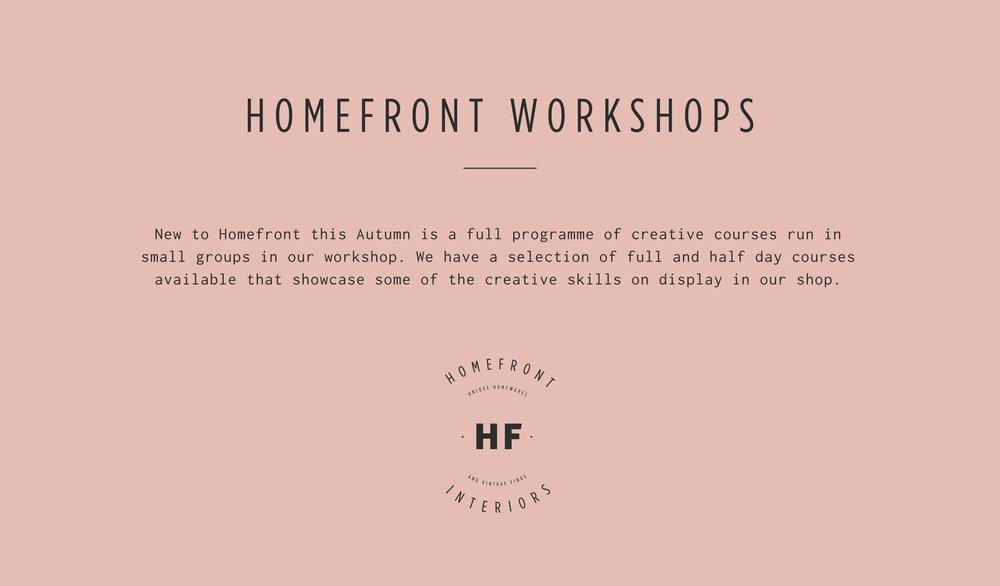 Homefront Workshops