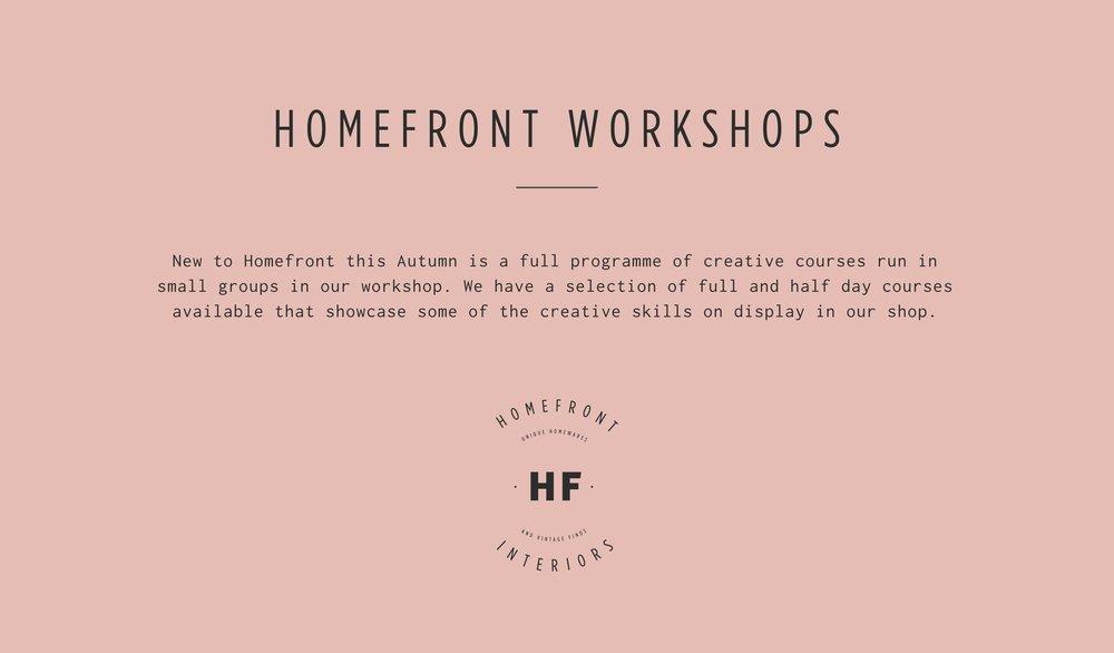 Homefront Workshops