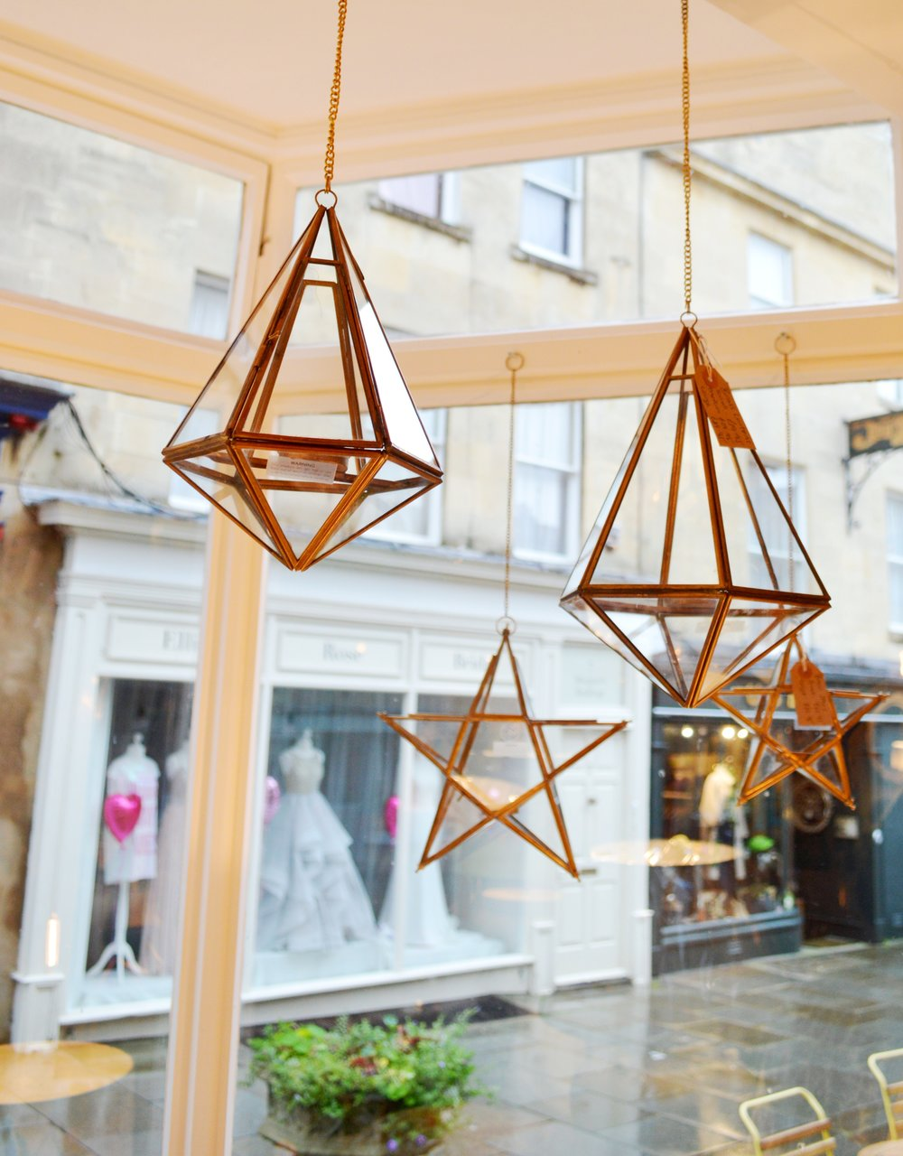 Hanging Lanterns from Nkuku Small £19.95, Medium £29.95 and Large £39.95