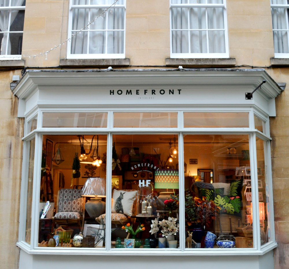 Homefront Interiors - 10 Margaret's Buildings - Bath - BA1 2LP
