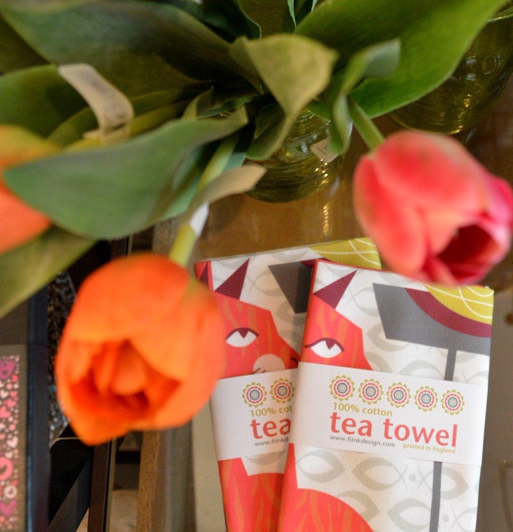 Fiink Design Tea Towels £12.00