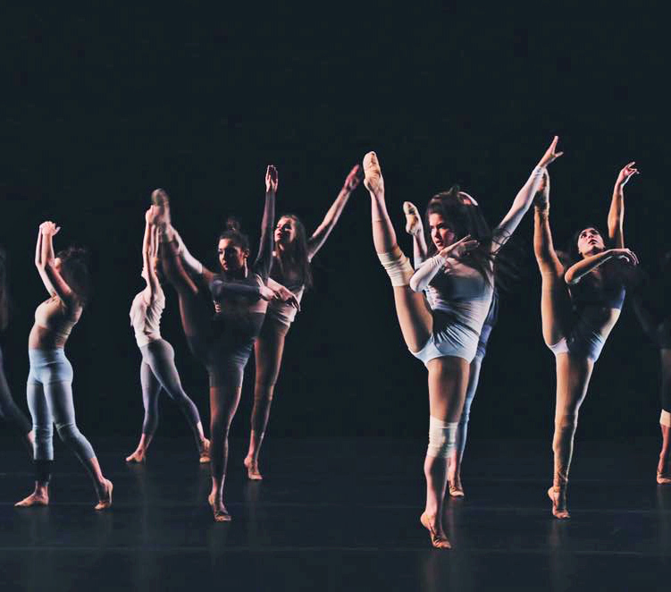 Our talented Sister Kelsey, performing in the Dance Gala. Photo by Eloy Barragan, who was also the choreographer