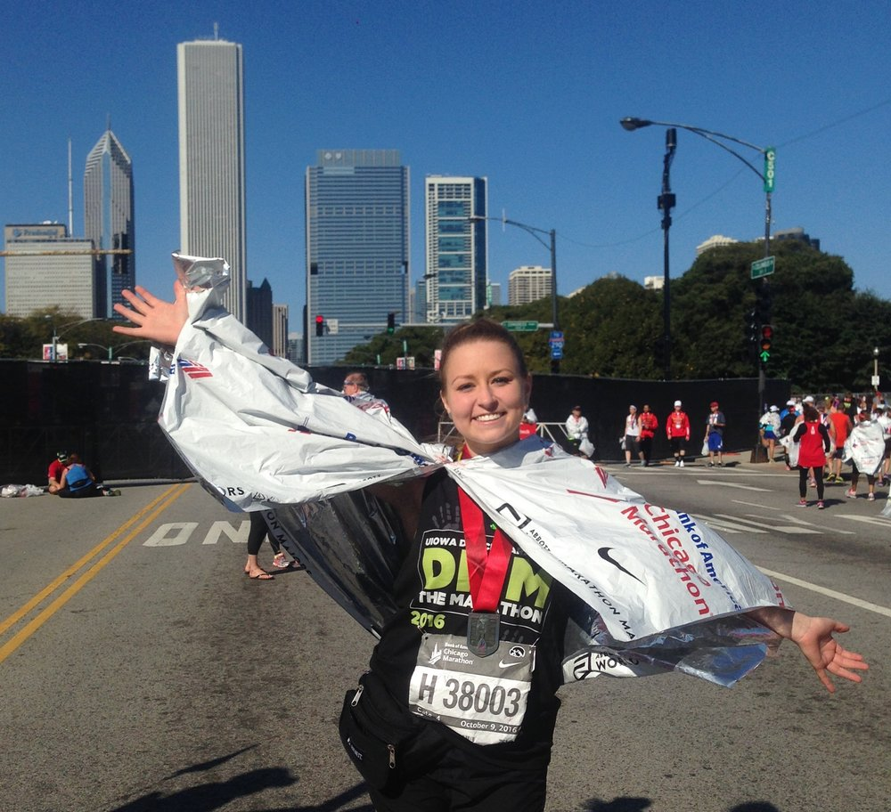 jayde-price-chicago-finish-dance-marathon-medal-iowa-chi-omega