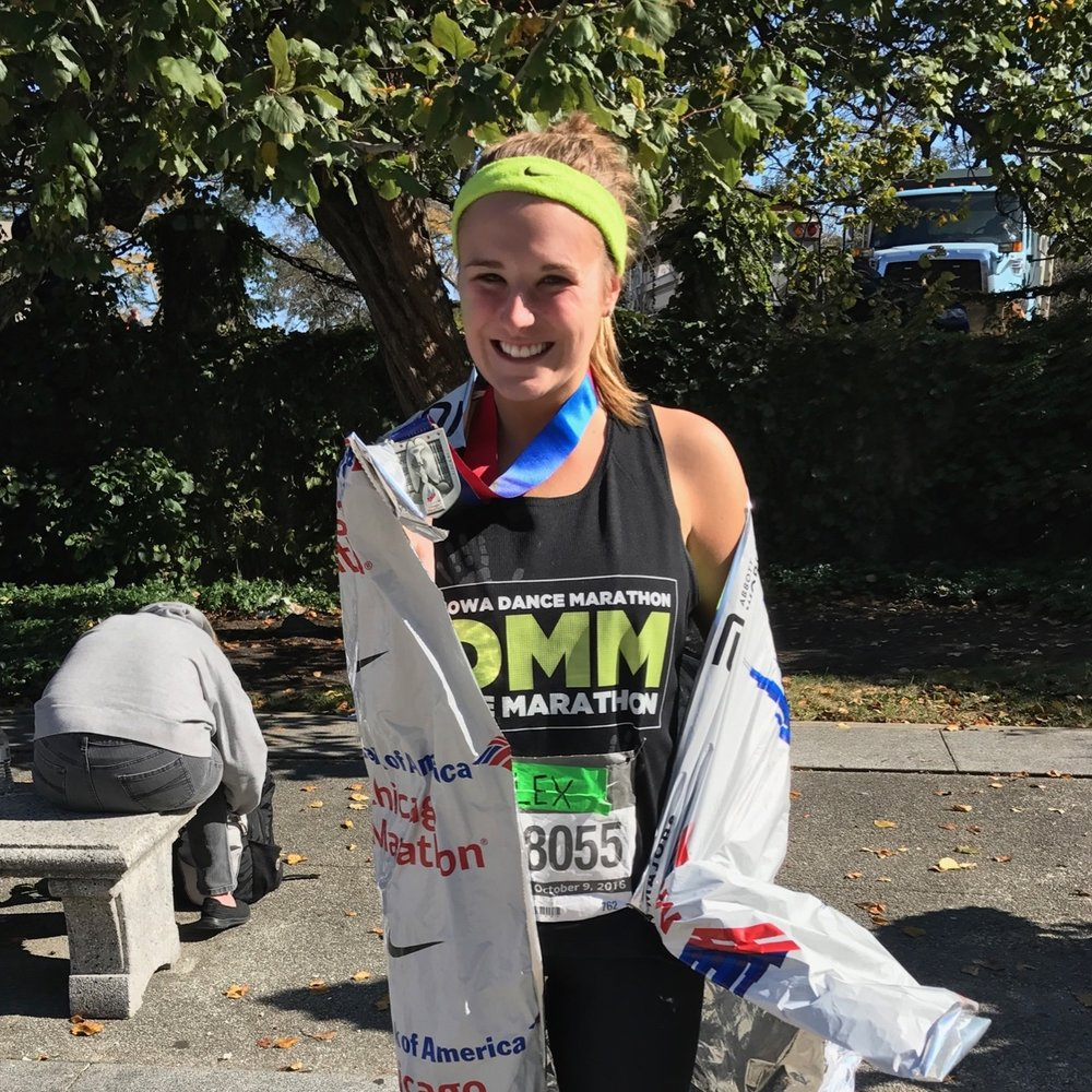 alexandria-seavey-ran-26.2-miles-for-the-kids-chicago-marathon