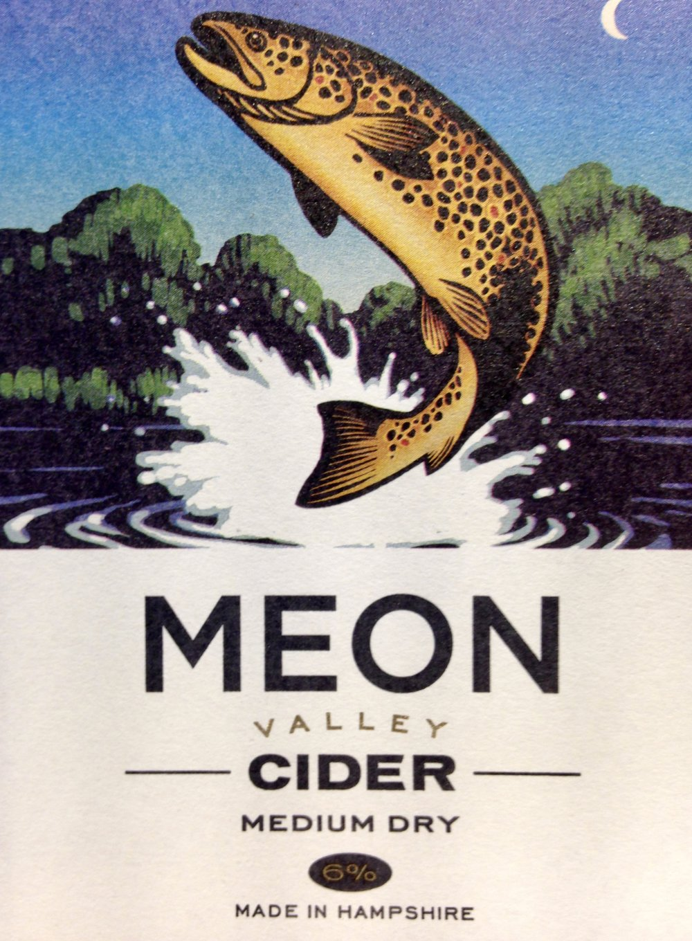 Brown Trout - 6% ABV Medium DryAmber cider cider lightly oaked with vanilla, kiwi fruit, and caramel notes. Good with stilton cheese and desserts. Using local Hampshire and Sussex dessert apples together with bittersweeets from the West CountryJoint-second Cider of the Festival CAMRA Southampton 2018Bottles Available, BIB available end Nov 2018:Sparkling in 500ml bottles (Cases of 12)Still in 20 Litre Bag in Boxes